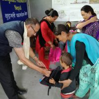 Children receiving scholarship